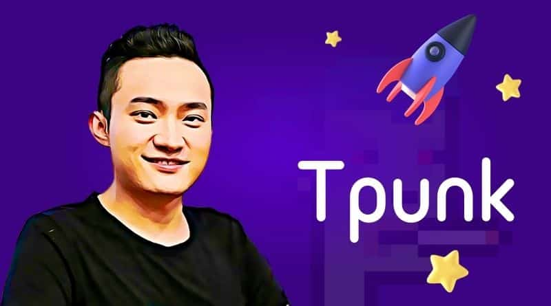 Justin Sun Releases Tpunks, NFT Collectibles on Tron